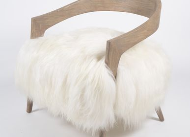 Armchairs - Armchair COURCHEVEL YETI - JOE SAYEGH PARIS