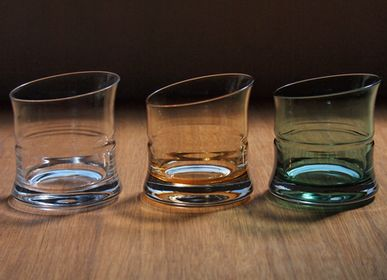 Tables for hotels - Bamboo Glass Clear - HIROTA GLASS MFG. CO., LTD.