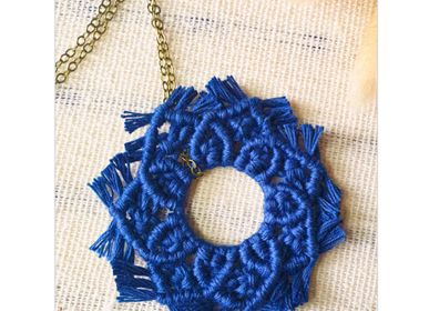 Gifts - DIY macrame kit - Sun Pendant - FRENCH KITS