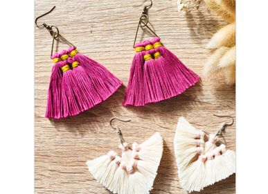 Gifts - DIY Kit - Pompom Earrings - FRENCH KITS