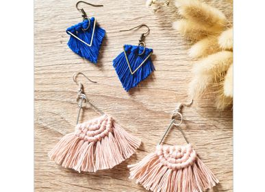 Jewelry - DIY Kit - Fringes Earrings  - FRENCH KITS