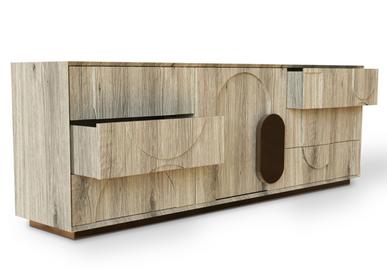 Sideboards - BOMA Sideboard - CAFFE LATTE