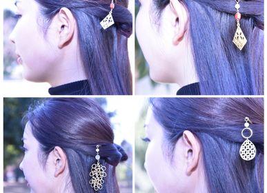 Accessoires cheveux - KIRIEJEWELRY KANZASHI (Épingle à cheveux) - ATELIER TANTAN