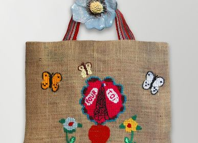 Children's bags and backpacks - Jute Bags - 35x43 - PO! PARIS
