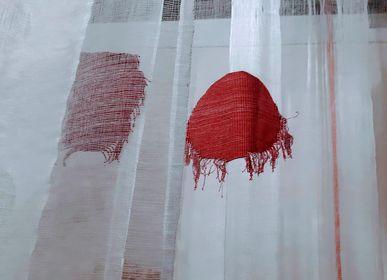 Tissus d'ameublement - Tissu TIZI Rouge - SOUMIYA JALAL