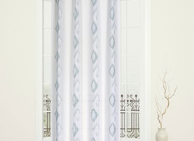 Curtains and window coverings - Panel PAP - BIARRITZ Blue green - IPC DECO DELL'ARTE