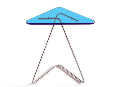 Tables basses - The Triangle Table / Stainless Steel - KRAY STUDIO