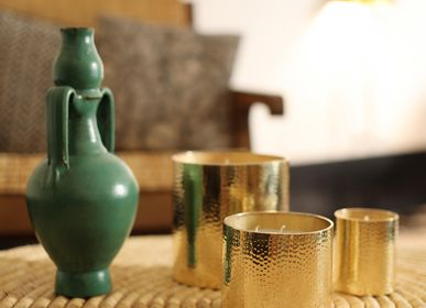 Design objects - CANDLE DINANDIERIE HAMMERED  - CÔTÉ BOUGIE