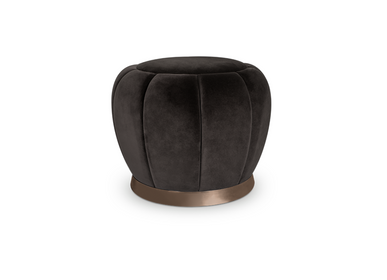 Office seating - FLORENCE Stool - CAFFE LATTE