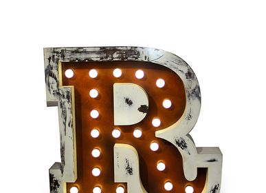Children's lighting - LETTER R | Floor and Wall Lamp - CIRCU