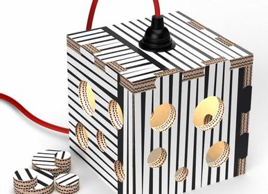 Table lamps - Table lamp - cube Lampotai - RIPPOTAI