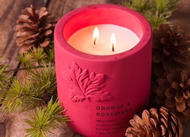 Candles - concrete candles  - VILAHERMANOS