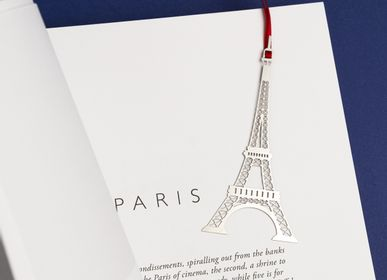 Stationery - Stainless steel bookmark - Eiffel Tower - TOUT SIMPLEMENT,