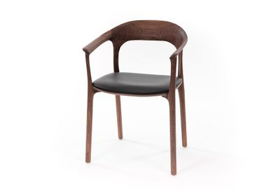 Armchairs - Elle chair with armrest - MS&WOOD