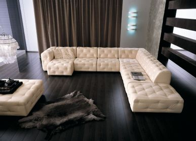 Leather goods - SOFA ORIONE - MITO HOME BY MARINELLI
