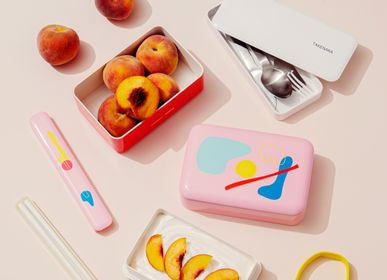 Food storage - BENTO BOX in POOL, POKETO x TAKENAKA Limited Edition - TAKENAKA BENTO BOX