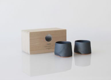 Tasses et mugs - Tasse 45 ensemble de 2/Tasse 45 ensemble de 2-YUKI - TSUKI YASUDAKAWARA JAPAN