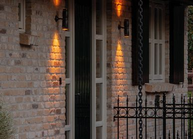 Outdoor wall lamps - Outdoor up and down light Micro - AUTHENTAGE LIGHTING