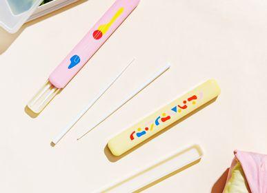 Cutlery set - CHOPSTICKS with CASE in Elements, POKETO x TAKENAKA Limited Edition - TAKENAKA BENTO BOX