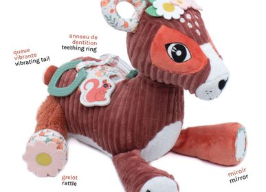 Toys - ACTIVITY PLUSH MELIMELOS THE DEER - LES DEGLINGOS