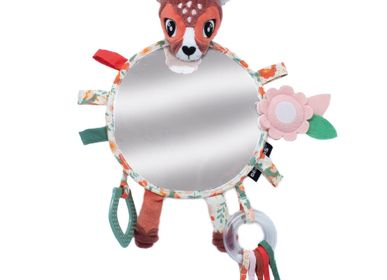 Childcare  accessories - BIG DISCOVERY MIRROR MELIMELOS THE DEER - LES DEGLINGOS