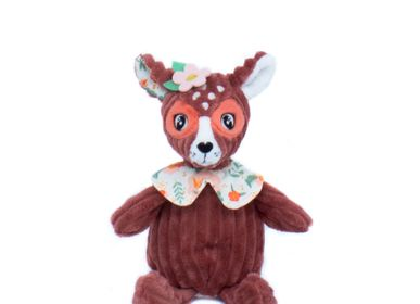 Soft toy - PLUSH SMALL SIMPLY MELIMELOS THE DEER - LES DEGLINGOS