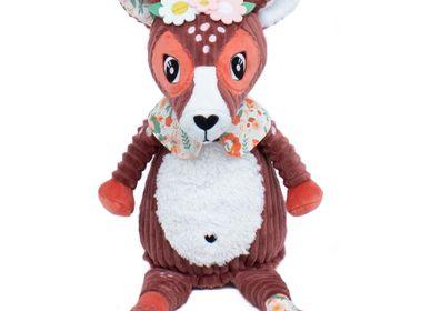 Soft toy - PLUSH ORIGINAL MELIMELOS LA BICHE - LES DEGLINGOS