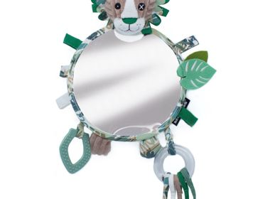 Children's decorative items - BIG DISCOVERY MIRROR JELEKROS THE LION - LES DEGLINGOS