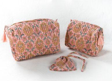 Homewear - PENCIL CASE AND TOWEL BLOCKPRINT PURE COTTON - PECHAAN