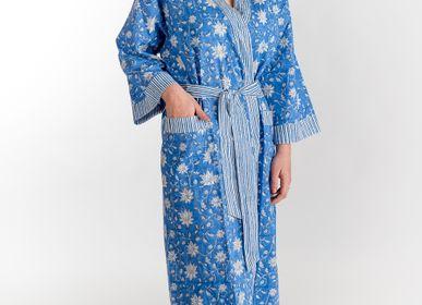 Homewear - KIMONO AZADI NATURAL COTTON BLOCKPRINT - PECHAAN