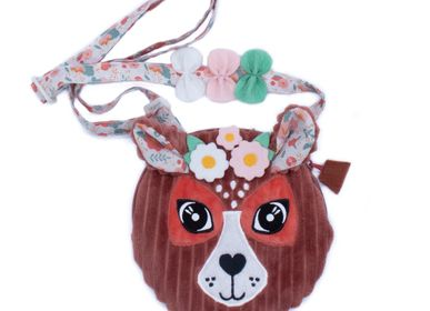 Children's mealtime - HAND BAG MELIMELOS THE DEER - LES DEGLINGOS