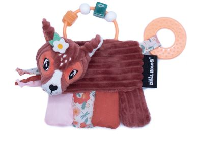 Toys - ACTIVITY RATTLE MELIMELOS THE DEER - LES DEGLINGOS