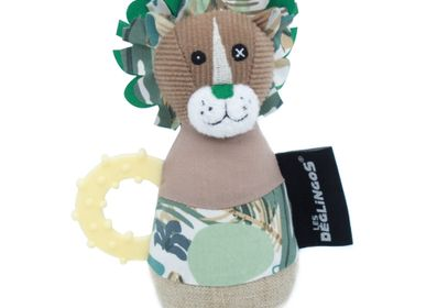 Childcare  accessories - MARACAS JELEKROS THE LION - LES DEGLINGOS