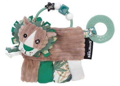 Childcare  accessories - ACTIVITY RATTLE JELEKROS THE LION - LES DEGLINGOS