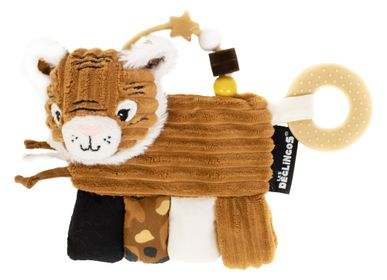 Kids accessories - ACTIVITY RATTLE SPECULOS THE TIGER - LES DEGLINGOS