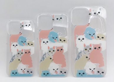 Decorative objects - iPhone 6,7,8/Ⅹ/11/12 acrylic case INDOOR CATS - KEORA KEORA GOODS JP