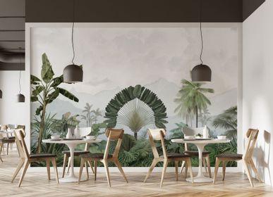 Autres décorations murales - Fresque Amazonia Patine - PAPERMINT