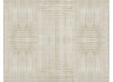 Contemporary carpets - WHITE GARDEN Rug - CAFFE LATTE