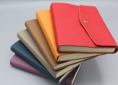 Leather goods - SOFTLEATHER NOTEBOOK SMALL SIZE - LEGATORIA LA CARTA