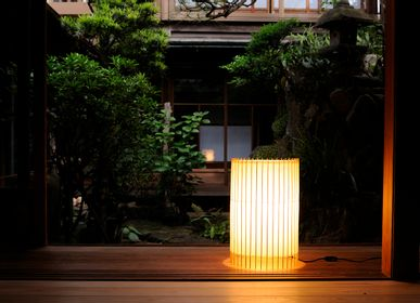 Floor lamps - KOTORI - Floor light - Large - HIYOSHIYA