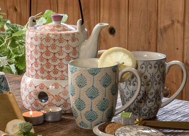 Mugs - Tea Cup with Tea Strainer - TRANQUILLO