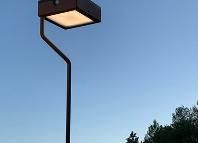 Outdoor floor lamps - solar pathway light TEE XL - LYX LUMINAIRES