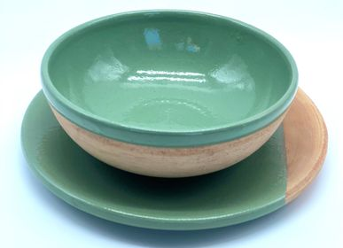 Platter and bowls - NESS NESS SALAD BOWL - YADI