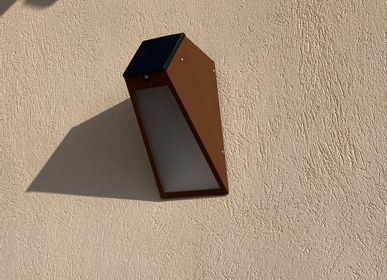 Outdoor wall lamps - solar wall lamp APS 025 - LYX LUMINAIRES