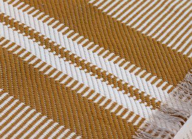 Design carpets - Handspun and Handwoven Nettle Cushions - MILLE ET CLAIRE