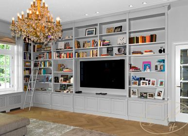 Bookshelves - Library - living room - BY MH - MARTIN HAUSNER, GASTRO INTERIEUR
