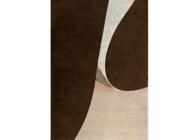 Design carpets - FOIL Rug - CAFFE LATTE