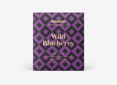 Chocolate - Organic Wild Blueberry 61%  - GOODIO