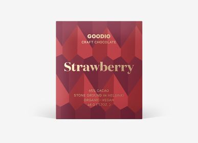 Chocolat - Organic Strawberry 49% - GOODIO