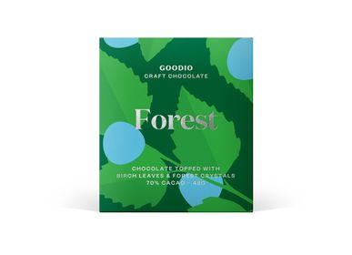 Chocolate - Forest -Dark chocolate - GOODIO